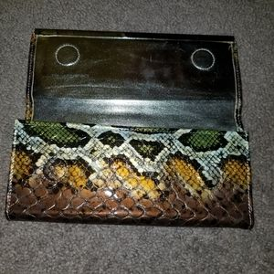 depenche new york Bags - Snake skin wallet